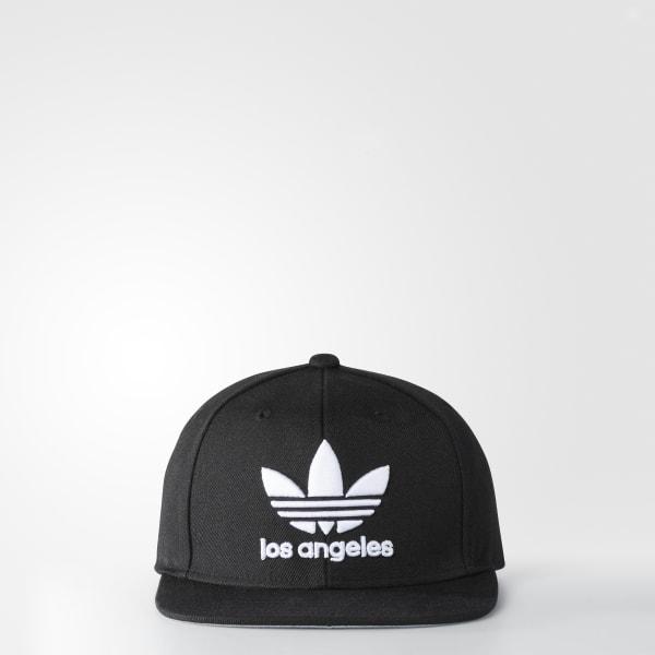 Trefoil City Snap-Back Hat Black BI5051