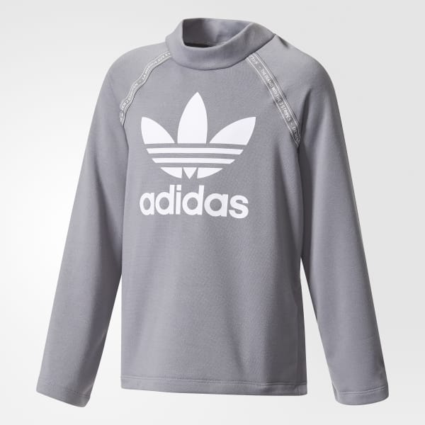 Crew Sweatshirt Grey BQ4036