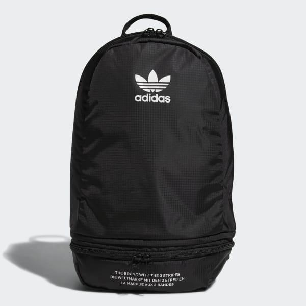 Packable Two-Way Backpack Black CJ6405