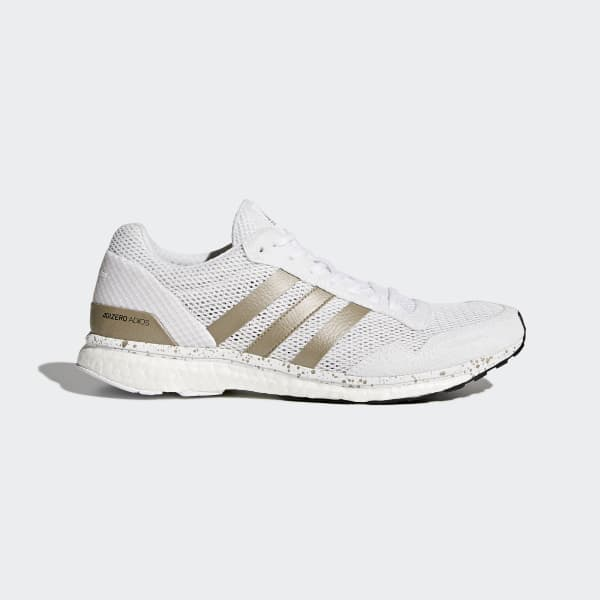 adizero Adios 3 Shoes White BB6439