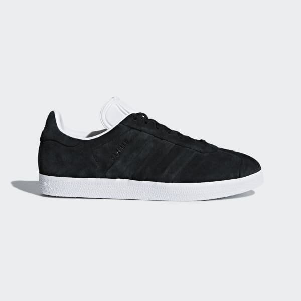 Gazelle Stitch and Turn Shoes Black CQ2358