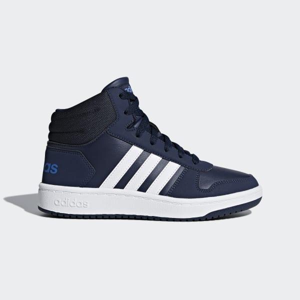 VS Hoops Mid 2.0 Schoenen blauw DB1950
