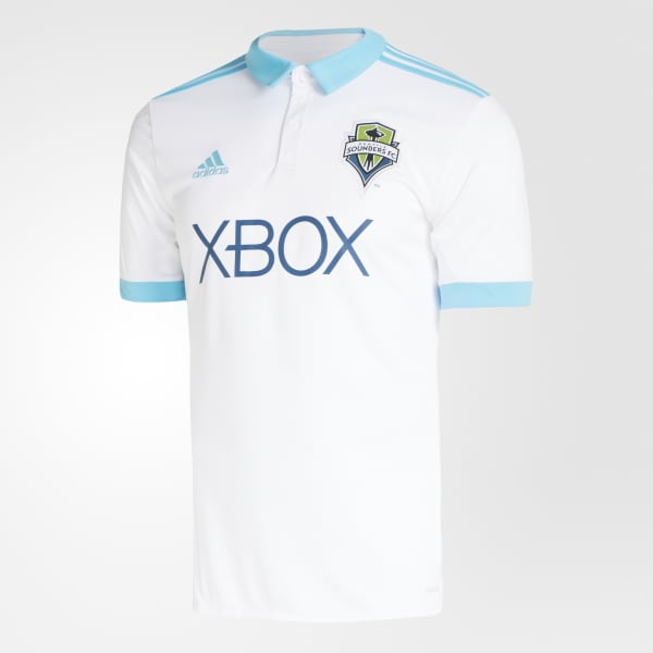 Seattle Sounders FC Away Jersey White BP9518