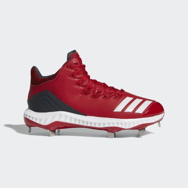 Icon Bounce Mid Cleats Red CG5178
