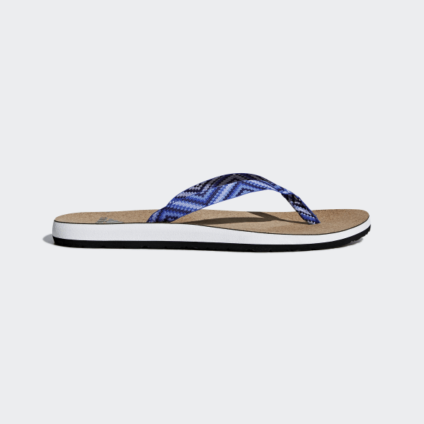 Eezay Cork Thong Sandals Blue CG2816