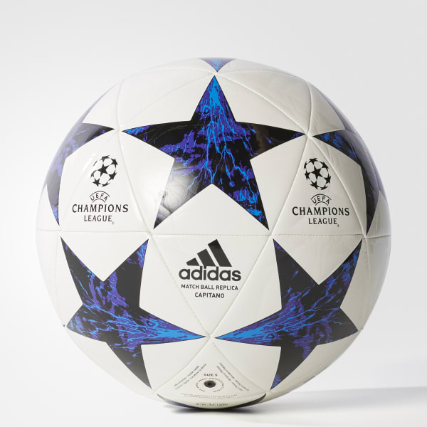 Finale 17 Olympique Marseille Capitano Ball weiß BS3483