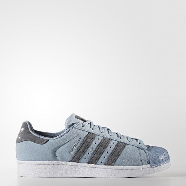 Chaussure Superstar bleu BZ0194