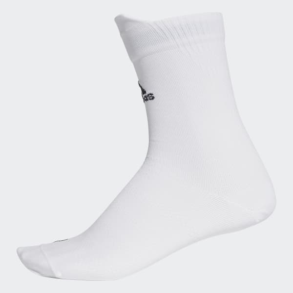 Alphaskin Ultralight Crew Socks White CG2660
