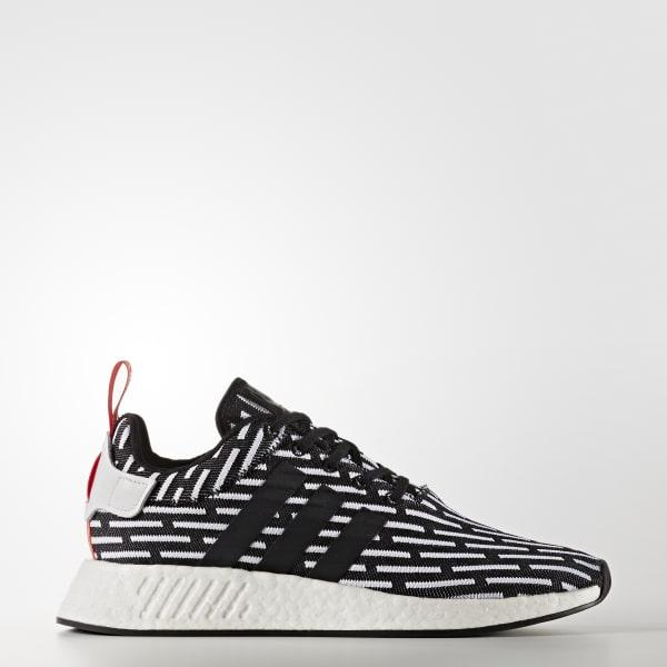 NMD_R2 Primeknit Shoes Black BB2951