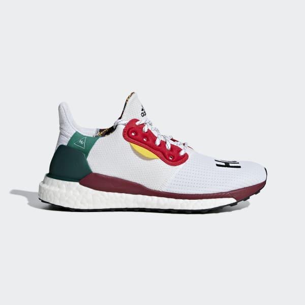 Pharrell Williams x adidas Solar Hu Glide ST Shoes Red CG6776