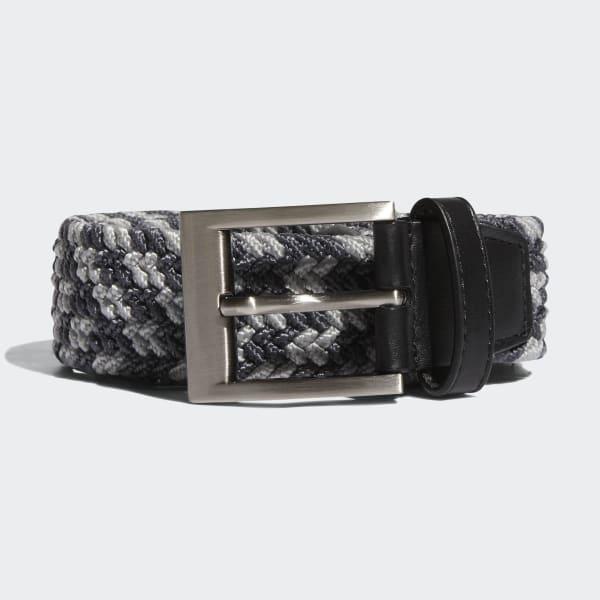 Cintura Braided Stretch Grigio BC1735