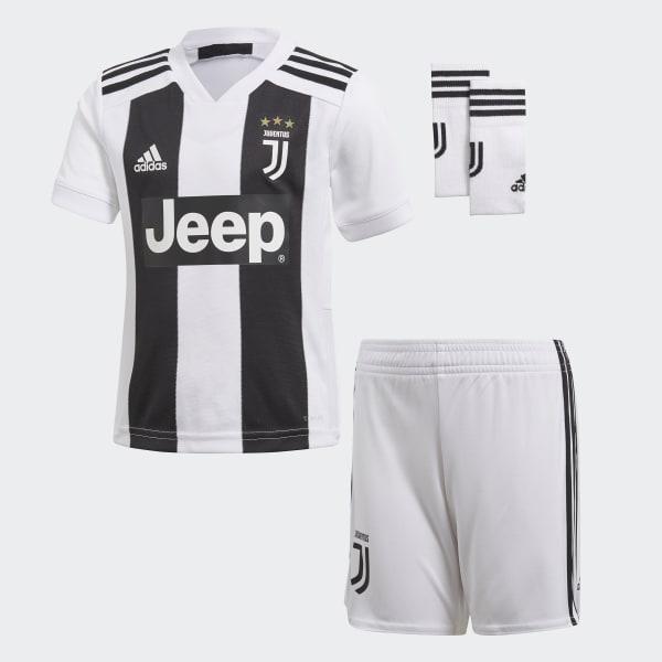 Juventus Turin Mini-Heimausrüstung weiß CF3495