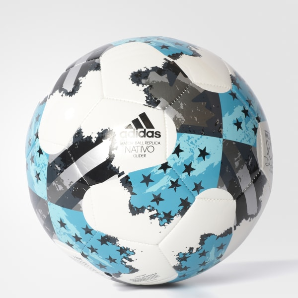 2017 MLS Glider Soccer Ball White AZ3211