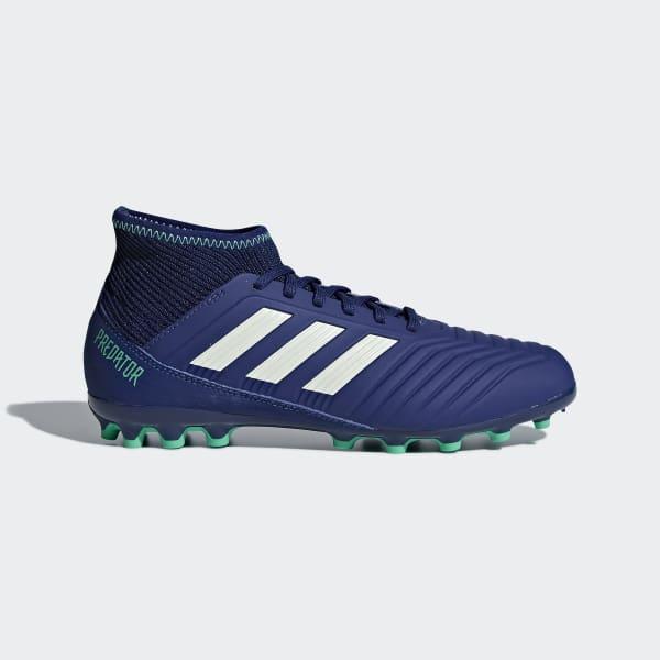 Scarpe da calcio Predator 18.3 Artificial Grass Blu AH2331