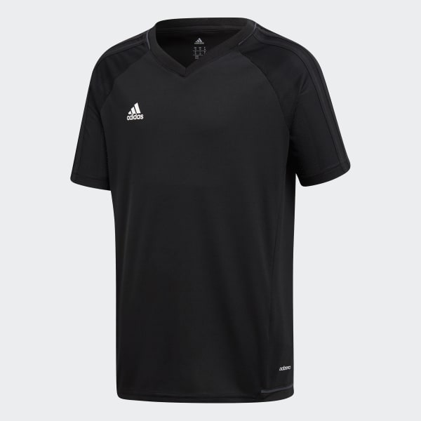 Tiro 17 Training Jersey Black AY2860