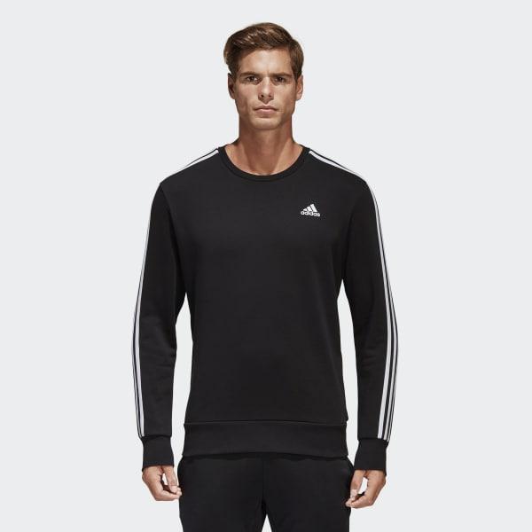 Essentials 3-Stripes Sweatshirt Black S98803