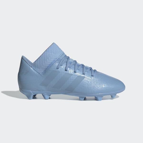 Bota de fútbol Nemeziz Messi 18.3 césped natural seco Azul DB2366