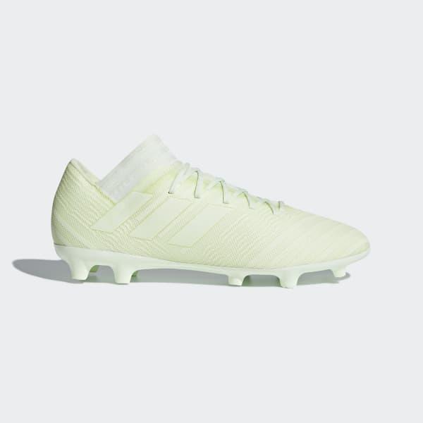Zapatos de Fútbol Nemeziz 17.3 Terreno Firme Verde CP8989