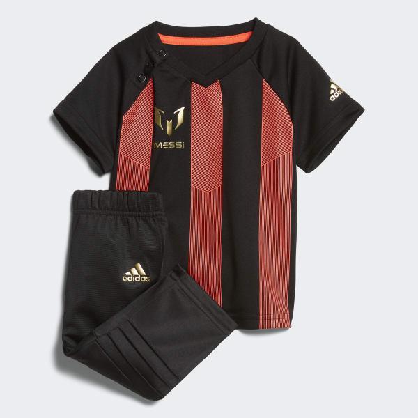 Conjunto Messi Mini Me Negro CF7432
