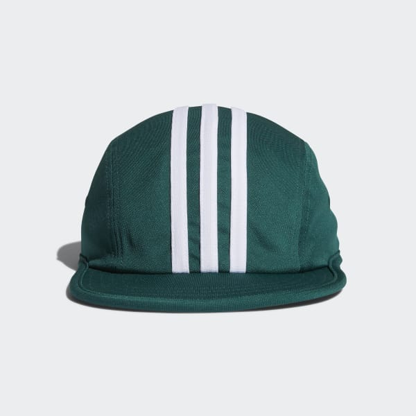 City Stripes Four-Panel Cap Green CE2606