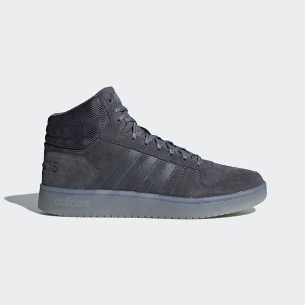 Chaussure Hoops 2.0 Mid gris B44635