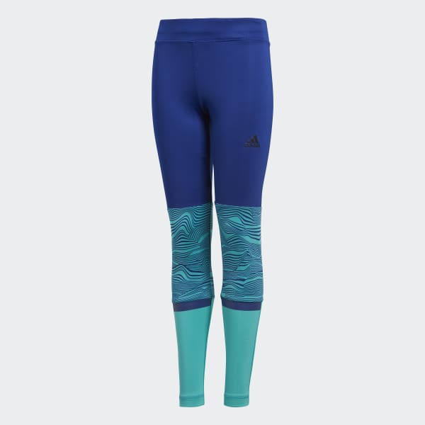 Training 1/1 Tights Blue DJ1070