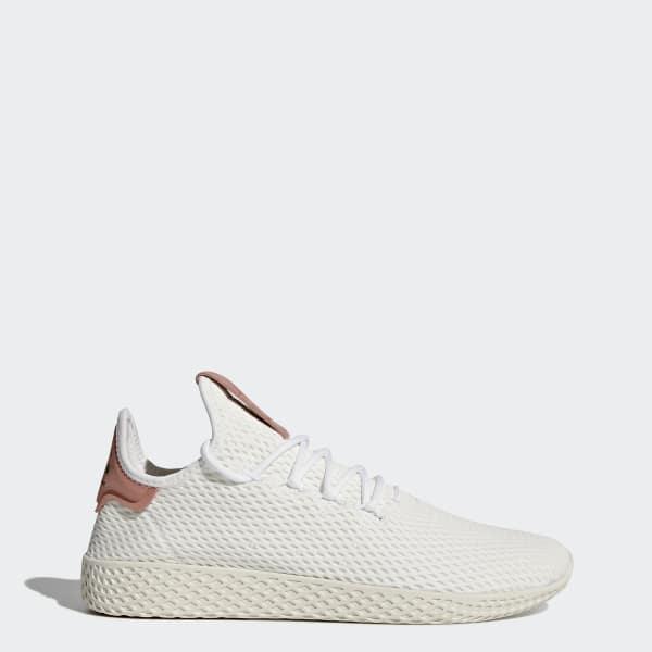 Pharrell Williams Tennis Hu Shoes White CP9763