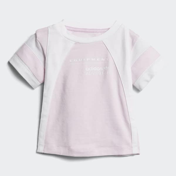 EQT T-shirt roze CE4381