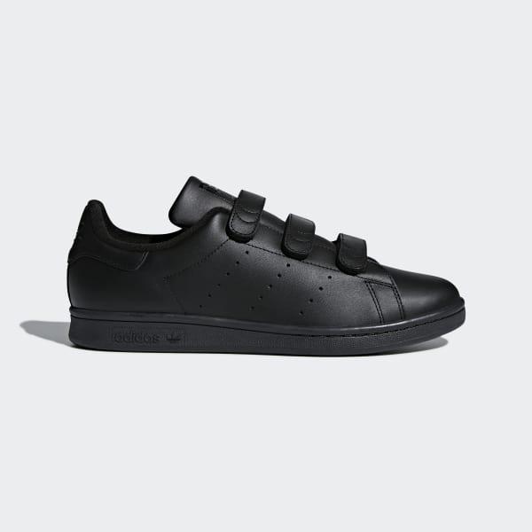 Stan Smith Schoenen zwart CQ2633