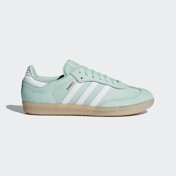 Samba Schoenen groen CQ2642