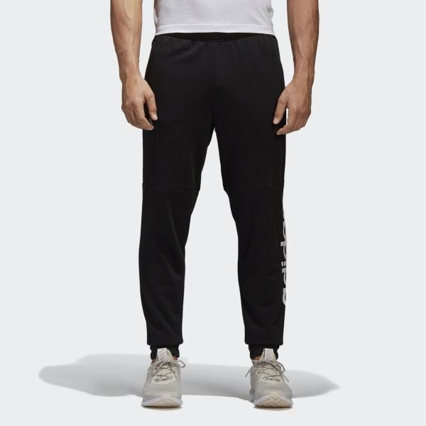 Pantaloni Essentials Linear Logo Nero BQ9090