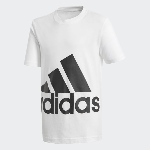 T-shirt Essentials Big Logo Bianco BP8760