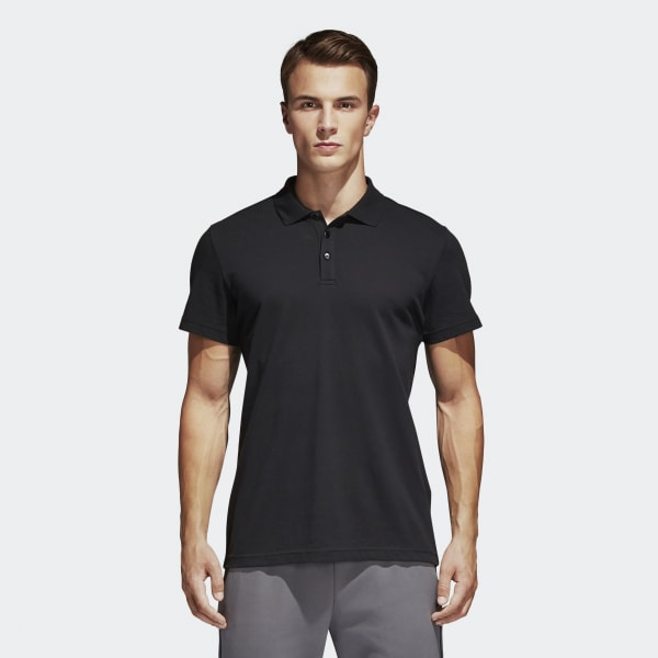 Essentials Basic Polo Shirt Black S98751
