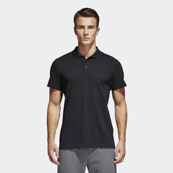 Essentials Basic Poloshirt zwart S98751