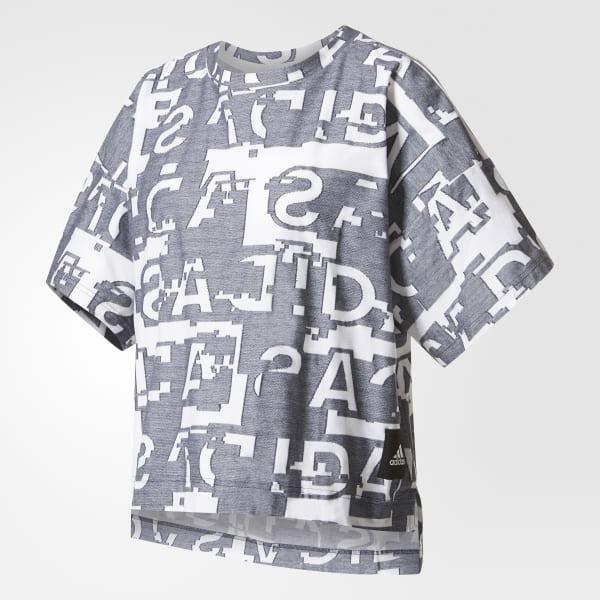 T-shirt Icon Grigio AZ1685
