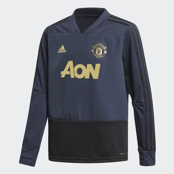Manchester United Ultimate Training Top Blue CW7575