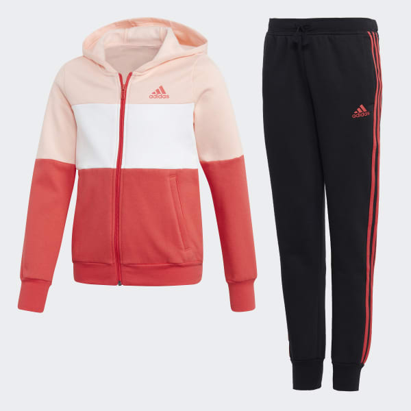 Hooded Track Suit Pink CF7305