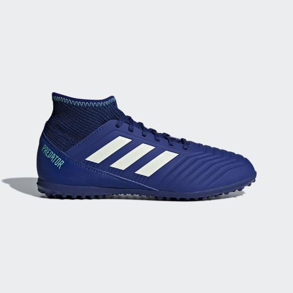 Zapatos de Fútbol Predator Tango 18.3 Césped Artificial Azul CP9042
