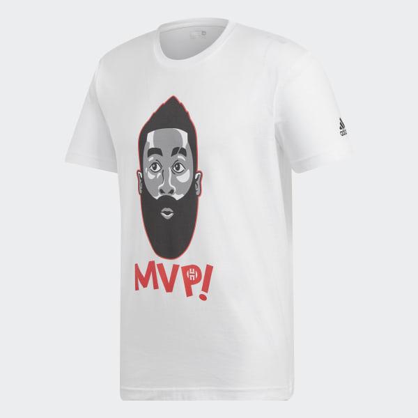Harden MVP T-Shirt weiß EJ3230