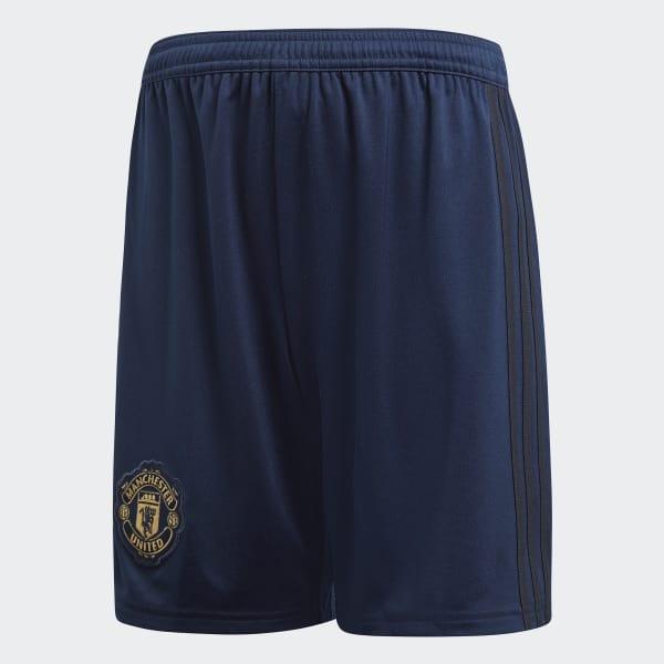 Manchester United Derde Short blauw DQ0095