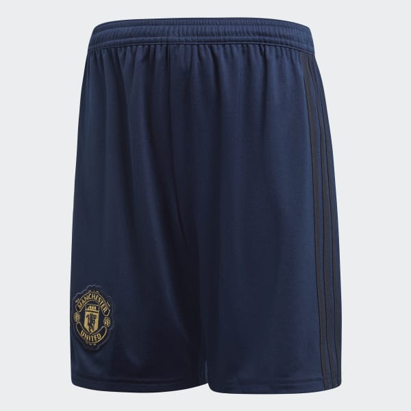 Manchester United Third Shorts Youth Blue DQ0095