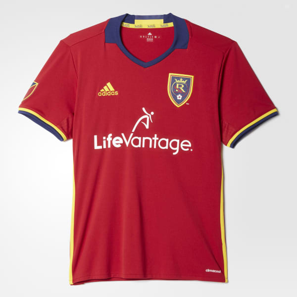 Real Salt Lake Home Replica Jersey Red AB9616