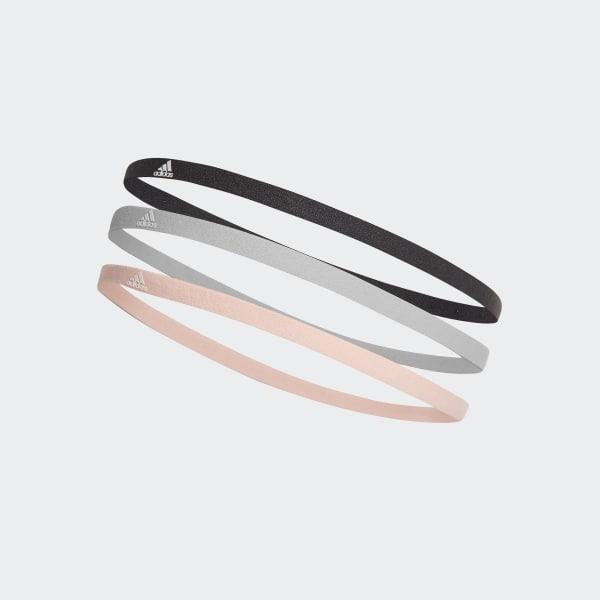 Haarband 3-Pak grijs DJ1046