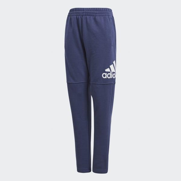Pantaloni Essentials Logo Blu CF6538