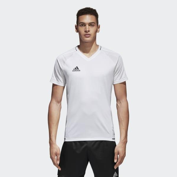Camiseta de entrenamiento Tiro 17 Blanco BQ2801