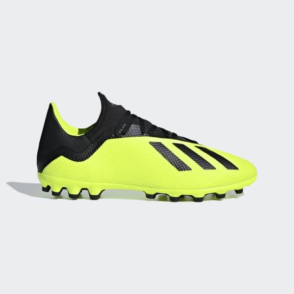 X 18.3 Artificial Grass Boots Yellow AQ0707