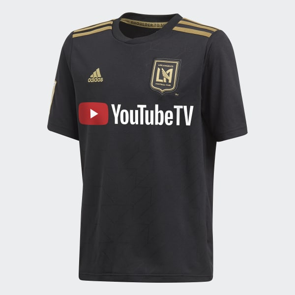 Los Angeles Football Club Home Replica Jersey Black CE3285