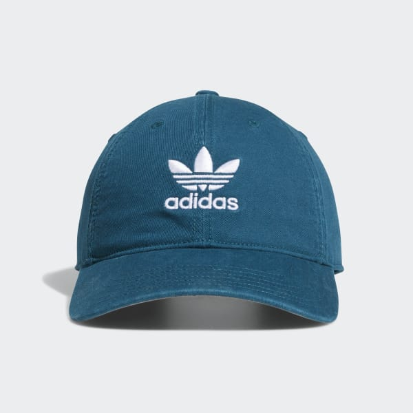 Relaxed Strap-Back Hat Green CJ3891