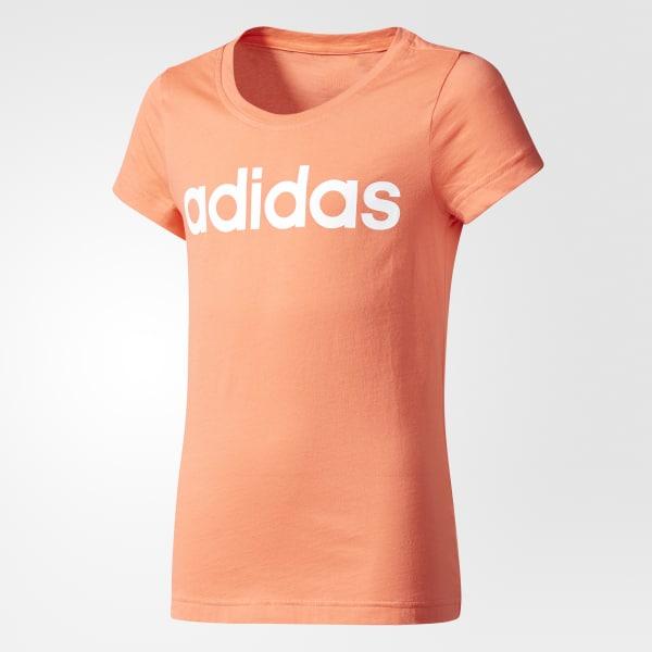 Camiseta Essentials Linear Naranja CF1653