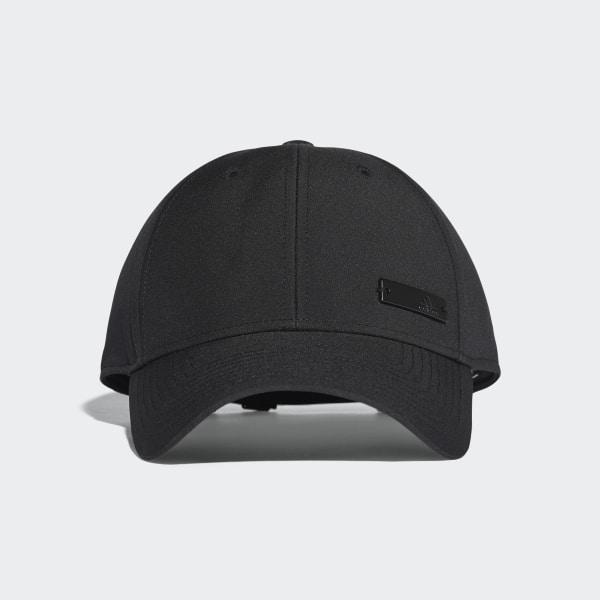 Classic Lichtgewicht Six-Panel Pet zwart S98158